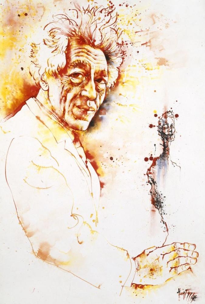 Alberto Giacometti by Vildorius